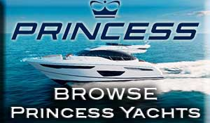 Princess boats for sale