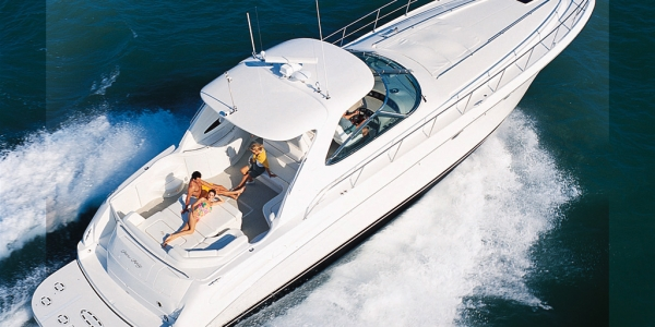 Sea Ray 540 Sundancer Review - POWER CURVE