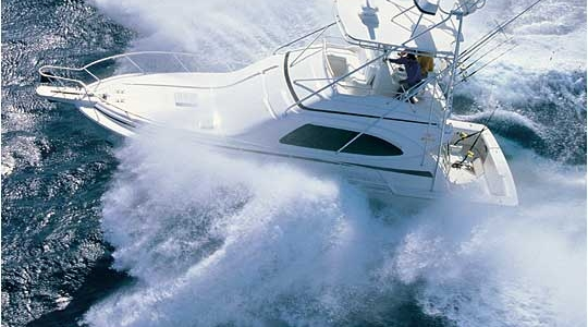 Bertram 390 Convertible Review - November 2000 POWER AND MOTORYACHT MAGAZINE