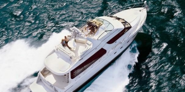 Carver 570 Voyager Review - Cruise Ship
