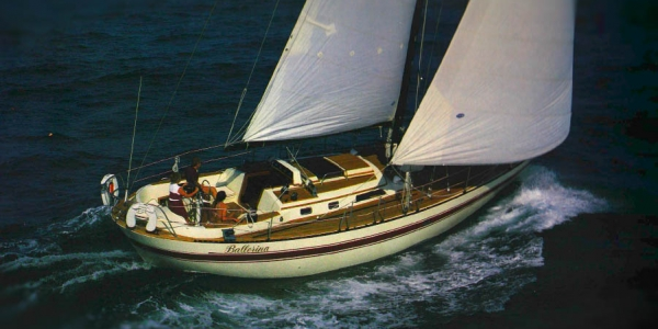 Lafitte 44 Review (Nautical Quarterly Summer 1985)