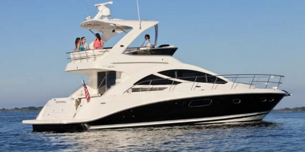 Sea Ray 450 Sedan Bridge Review - RETOOLED AND REFRESHED