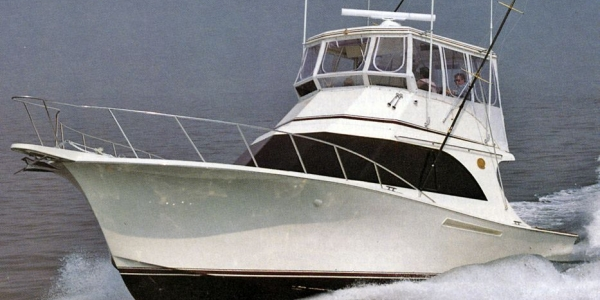 Jersey 42 Convertible Sportfisherman Review - PERSONAL STATEMENT - Boat Test #606