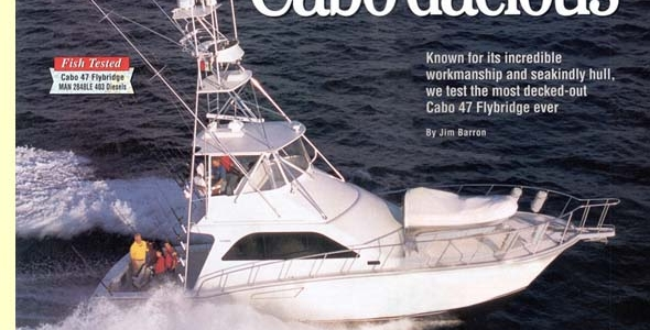 Cabo Dacious - Sport Fishing Boats April 2001
