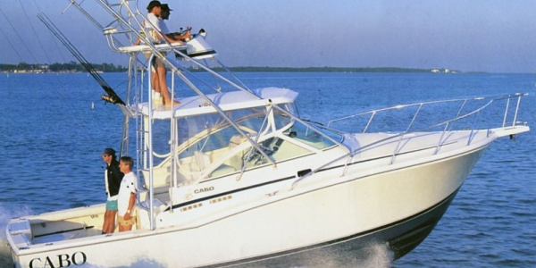 Cabo 31 Express Review: Fast (But Soft) Track to Blue-Water Fishing Powerboat Reports