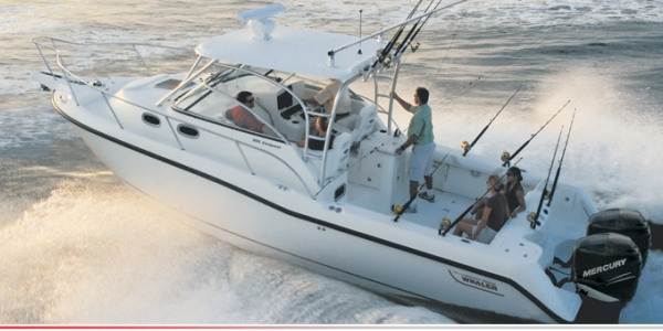BUSTING LOOSE - Boston Whaler takes its line of cabin fishboats in a new direction with the 305 Conquest (Review) Capt. Dave Lear