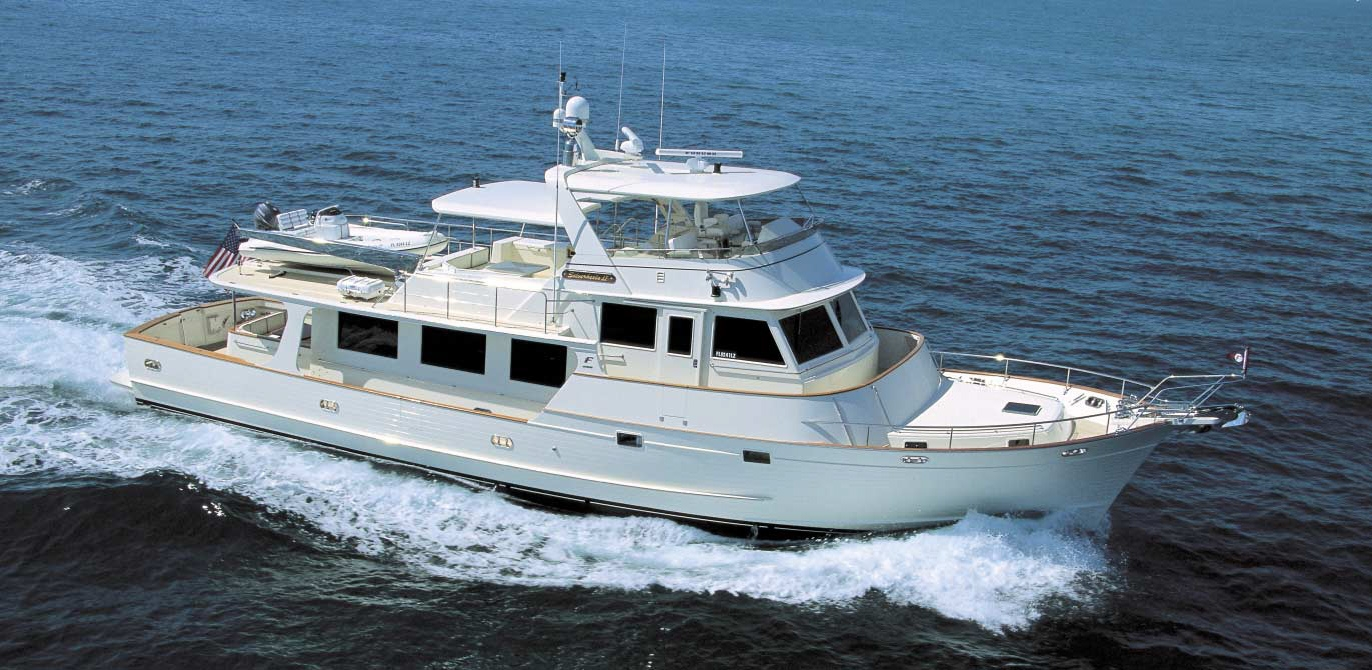 Fleming 75 Pilothouse Motoryacht Review - SilverHeels II
