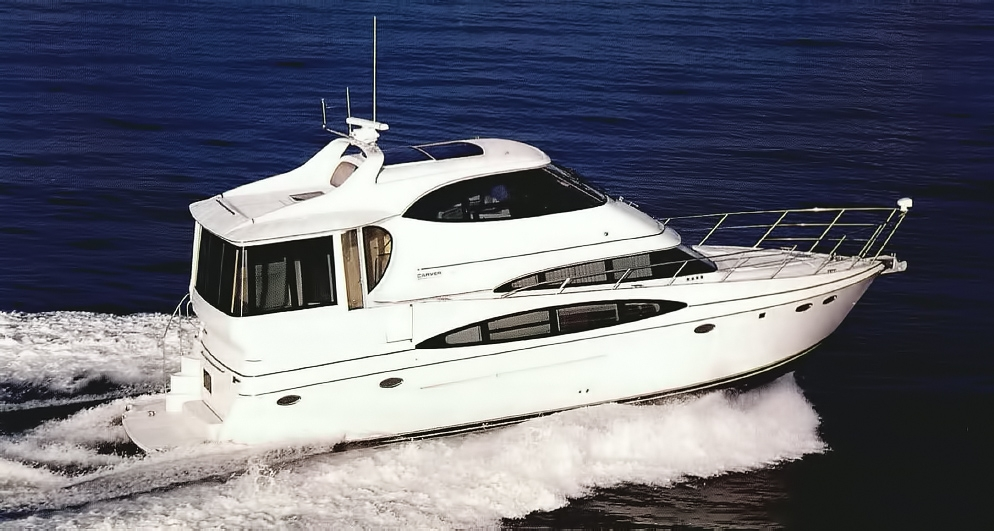Carver 506 Motoryacht Review - ROOM WITH A VIEW